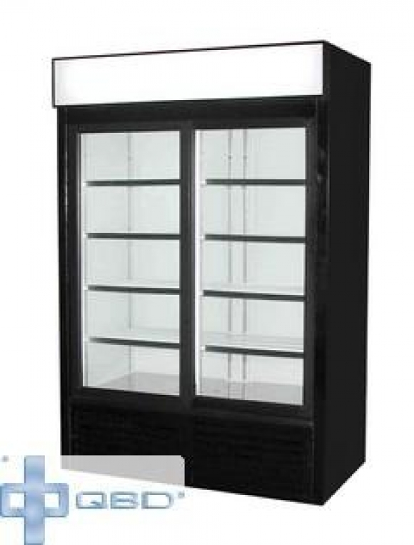 Qbd Cd45 Double Doorglass Door Cooler
